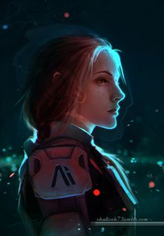 Mass Effect: Andromeda Fan Art - Created by Shalizeh7Follow the artist on Tumblr!