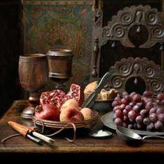 Goblets || Fruit || Feasting