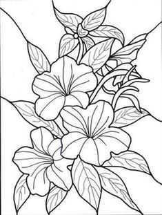60 Imágenes de flores para Colorear dibujos | Colorear imágenes