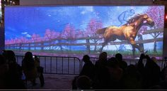 第65回 さっぽろ雪まつり 2014 Sapporo Snow Festival Projection Mapping プロジェクションマッピン...