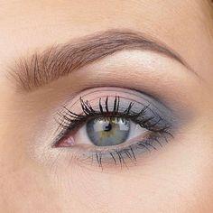 Matte, blue-gray eyeshadow