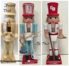 How to build a life size nutcracker pinterest christmas decor make personalized nutcrackers christmas decoration craftschristmas diynutcracker solutioingenieria Image collections