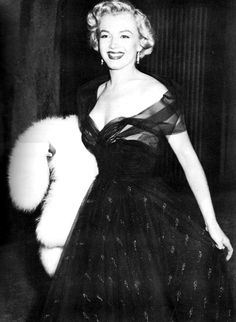 Marilyn at the 1951 Academy Awards