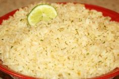 Arroz Blanco (Mexican White Rice)   I have made this countless times. The only thing I do differently is instead of parsley, I add cilantro. This is the best rice I've ever had. Delicious. :)