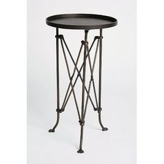 Urban Outfitters Metal Accordion Side Table