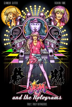 Jem and the Holograms.my childhood Doctor Who Comics, Jem Doll, Wattpad Book Covers, Tv Show Music, Jem And The Holograms, Cartoon Tv Shows, All I Ever Wanted, My Childhood Memories, My Idol
