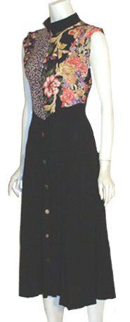 Zoe California Vintage 80s Dress