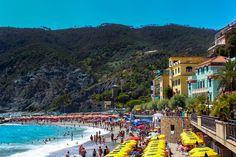 Monterosso al Mare Beach #CinqueTerre #Italy