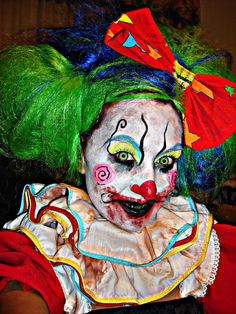 Clowning around  JK Makeup and Hair