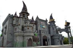 Castle of Chaos in Pigeon Forge combines the experience of a 3D film, ride and video game in one scary fun adventure.