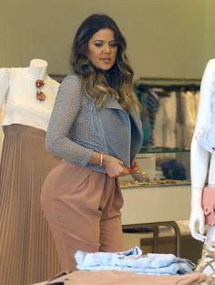 Khloe Kardashian - The Kardashian Sisters Shop in Miami