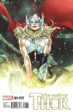 Jane Foster is The Mighty Thor. Not She-Thor or Female Thor! In anticipation of her debut in the MCU, we bring you 20 amazing and cool facts about her. Marvel Comics, Marvel Dc, Arte Dc Comics, Marvel Girls, Marvel Heroes, Lady Thor, Thor 1, New Thor, Thor Girl