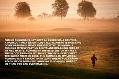 What running is to me...