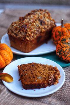 Pumpkin and spices halloween vegan cake - du bio dans mon bento