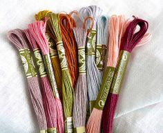 DMC Linen Embroidery Floss