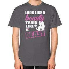 Look like a beauty train Unisex T-Shirt (on man)