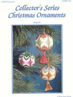 2 Vintage Needlepoint Patterns BARGELLO CHRISTMAS by TheOldOwl. , via Etsy.