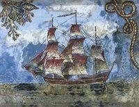 Sailing ship by Dora Carrington