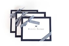 With Petite Plume, every order arrives in these gorgeous customized boxes, making them the perfect gift!  www.petite-plume.com