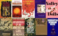 50 Essential Cult Novels via Flavorwire