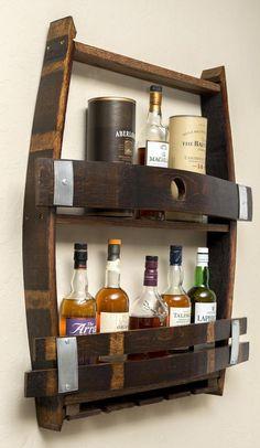 Best Indoor Garden Ideas for 2020 - Modern Wine Barrel Crafts, Wine Bottle Crafts, Wine Glass Holder, Wine Bottle Holders, Tonneau Bar, Barrel Projects, Wine Barrel Furniture, Wood Wine Racks, Whiskey Barrels