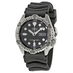 Seiko Diver Black Dial Automatic Men's Watch SKX171