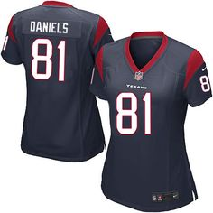 New Womens Navy Blue Nike Elite Houston Texans http://#81 Owen Daniels Team Color NFL Jersey | All Size Free Shipping. Size S, M,L, 2X, 3X, 4X, 5X. Our massive selection of Womens Navy Blue Nike Elite Houston Texans http://#81 Owen Daniels Team Color NFL Jersey coupled with our competitive prices, fast shipping and friendly service for nike jerseys is why we are the largest fan shop online.$109.99