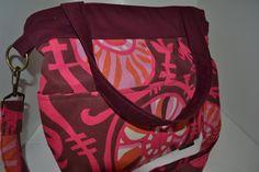 Unique Camera Bags DSLR for Women,  Rasberry and Cabernet Camera Bag  Dslr, Photographers camera purse, diaper bag, by Darby Mack. $99.00, via Etsy.