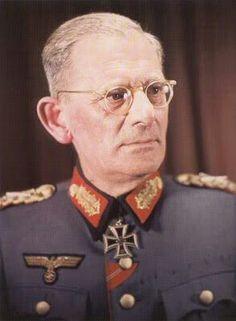 ✠ Maximilian von Weichs (12 November 1881 – 27 September 1954) RK 29.06.1940 General der Kavallerie OB 2. Armee 05.02.1945 [731. EL] Generalfeldmarschall OB HGr. F, zugleich OB Südost