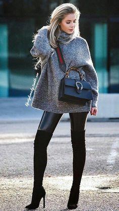 Minikleid Stiefel Kleid Schwarzes Mit Zierlich Fashionblog