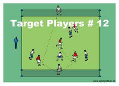 http://www.top-soccer-drills.com/target-players--12.html #possessiongamessoccer  #possession #games #soccer