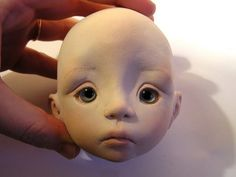 Linda Macario BJD Face-sculpting Tutorial - can easily be adapted to fondant sculpting