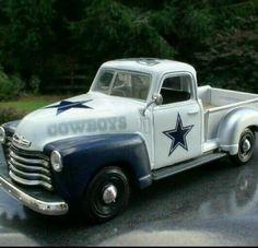 Cowboys truck old school