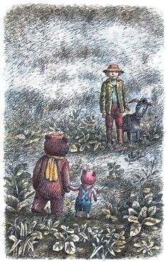 Illustrator Boris Diodorov Author A.a. Milne Retelling Boris Zahoder Country Russia Year 1992