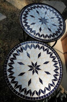 ...mosaic tables