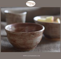 You asked for rustic?! Absolutely! Breakfast bowl, mugs, cups, bowls, plates.... take a look....