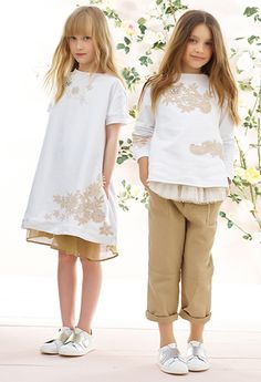 TWIN-SET by Simona Barbieri – Spring Summer Junior collection 2017 on Bellissima Kids