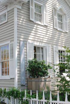 Exterior siding home #housefacades