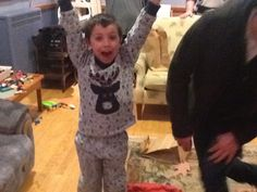 One happy great nephew! Merry Christmas.