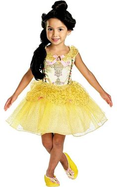 Girls Classic Belle Ballerina Costume - Party City ($29.99)