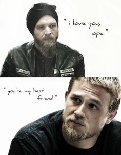 Sons of Anarchy/Jax & Opie