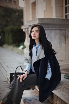Korean Fashion Trends you can Steal – Designer Fashion Tips Korean Fashion Dress, Ulzzang Fashion, Korean Outfits, Asian Fashion, Korean Clothes, Teen Fashion Outfits, Fashion Dresses, Womens Fashion, Fashion Tips