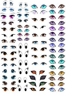 My Skills Guide: Manga Eyes for Amigurumi Practice by stefanieCrochet eyes shapes and expressions. Manga and Disney Eyes for Amigurumi with TShirt Transfer Paper - TutorialBildergebnis für how to make crochet eyes for amigurumiEyes for terra cotta p Crochet Eyes, Crochet Dolls, Doll Eyes, Doll Face, Cartoon Eyes, Cartoon Brain, Penguin Cartoon, Ghost Cartoon, Batman Cartoon