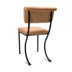 Tivoli Stuhl Leder in Schwarz/Natur von Klong