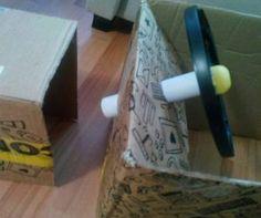 Tractor Farmer Cardboard Box Costume