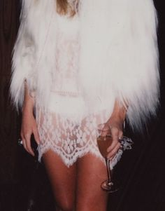Lace and fur