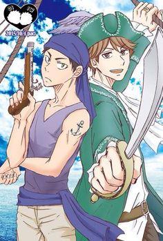 Iwaoi - Iwaizumi Hajime & Oikawa Tooru