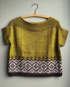 Likes, 76 Comments - Magpie Fibers Fair Isle Knitting Patterns, Knitting Blogs, Knitting Stitches, Knitting Designs, Knit Patterns, Knitting Projects, Crochet Capas, Knit Crochet, Pulls