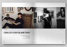 NERO Homme magazine Nr. 1 on Behance