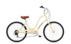 Just got this bike. Everyone says for comfort riding, the Electra brand can't be beat. And they have cute colors too!